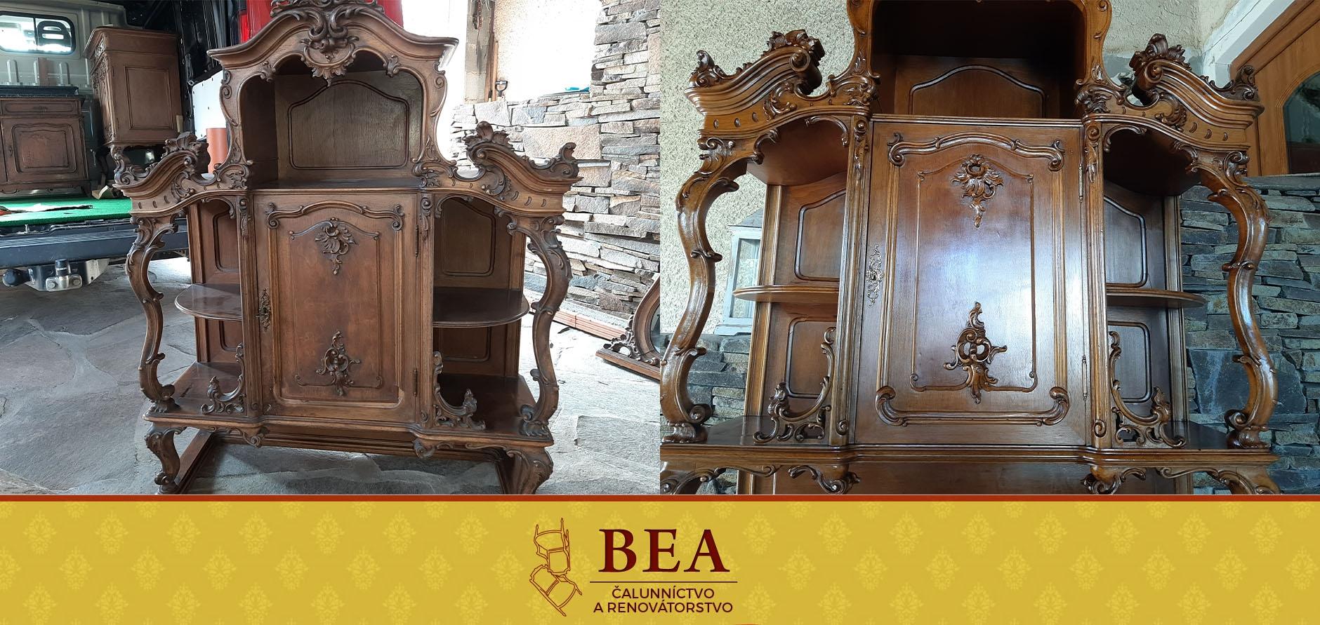 renovacia-starozitneho-nabytku-vitrina